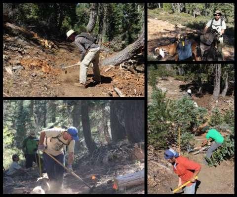 Work Weekend at Grouse Ridge