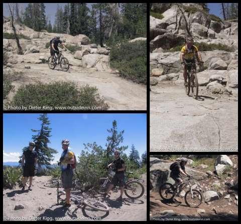 Mountain Biking Hole in the Ground, Sierras