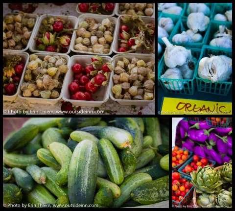 Cucumbers, garlic and more