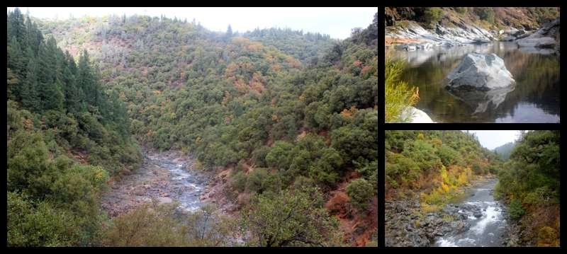 South Yuba River fall hike