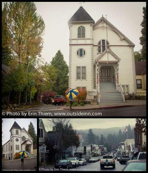 Hallmark Movie The Christmas Card church