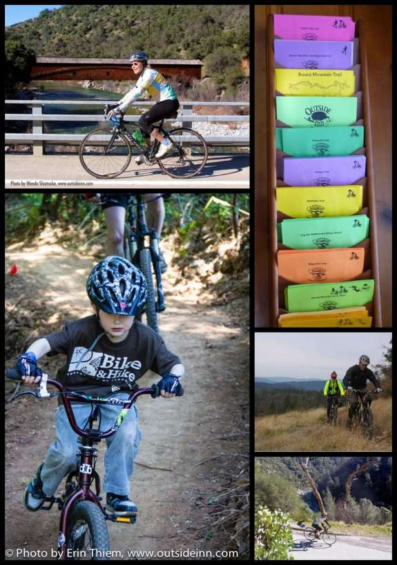 Nevada City biking