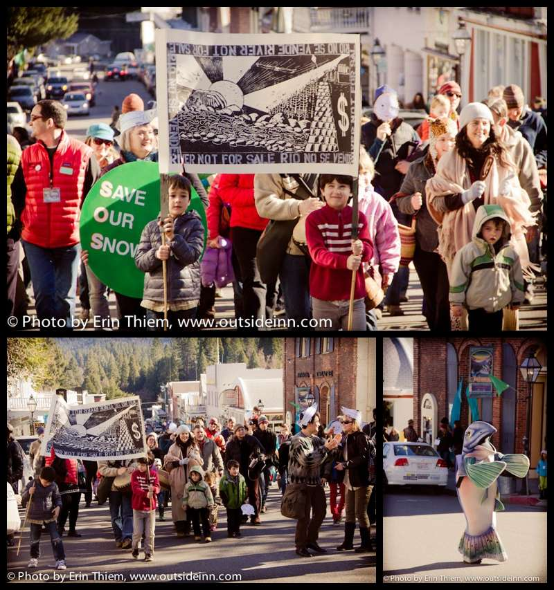 Wild and Scenic Film Festival, Nevada City, Salmon Parade, SYRCL