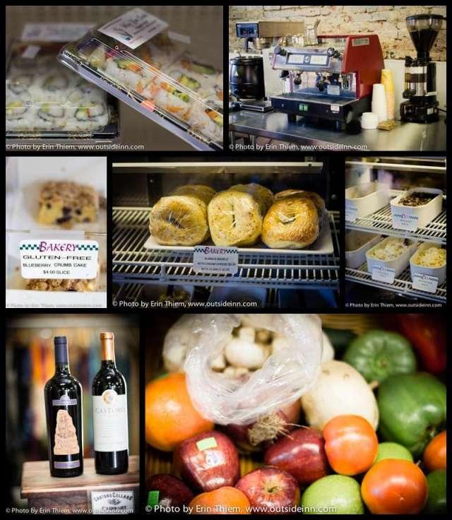 Harmony Ridge Market Nevada City, lunch, coffee, fruit, wine, food