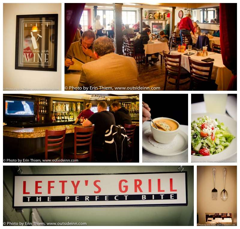 Nevada City Lunch & Dinner, Lefty's Grill