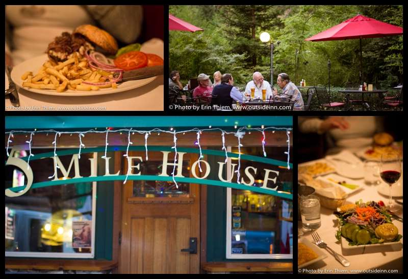 Nevada City Old Five Mile House Restaurant