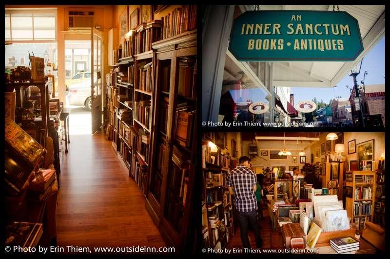 Nevada City used books and antiques, Inner Sanctum