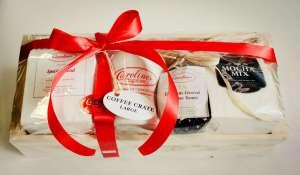 Carolines Coffee Roasters coffee, mug, crate gift giveaway