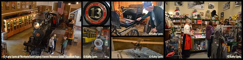 Things to Do with Kids: Nevada City Train Museum