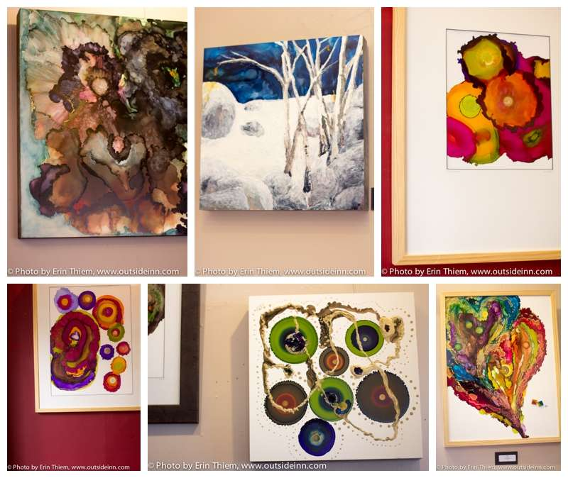 Nevada City Artist Kath Schad at Broad Street Bistro
