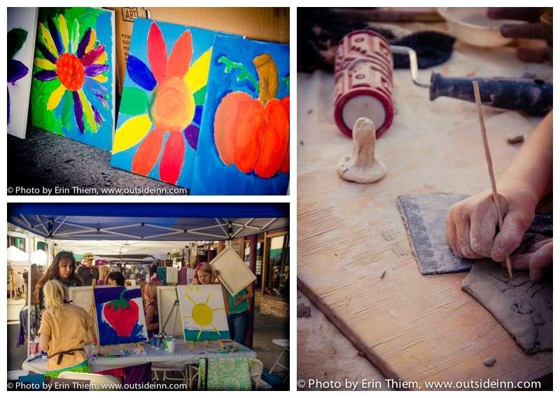 The Artist Workshop and ASiF Mud Hut Childrens Art