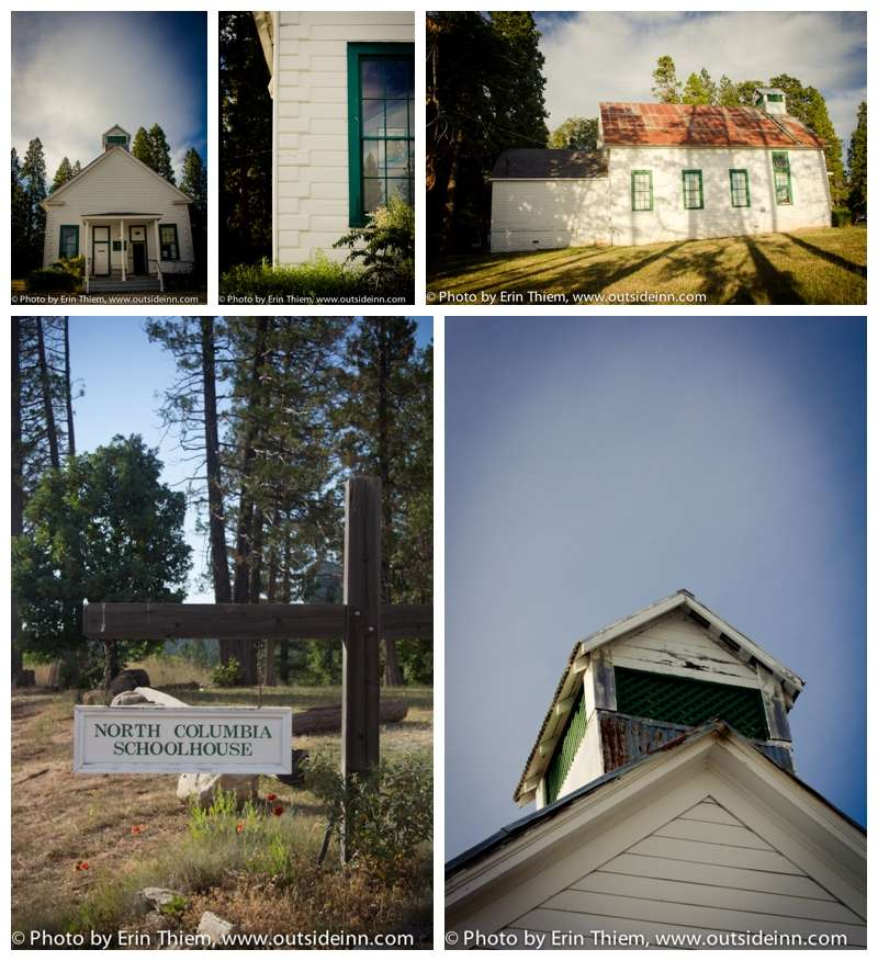 Nevada City's North Columbia Schoolhouse