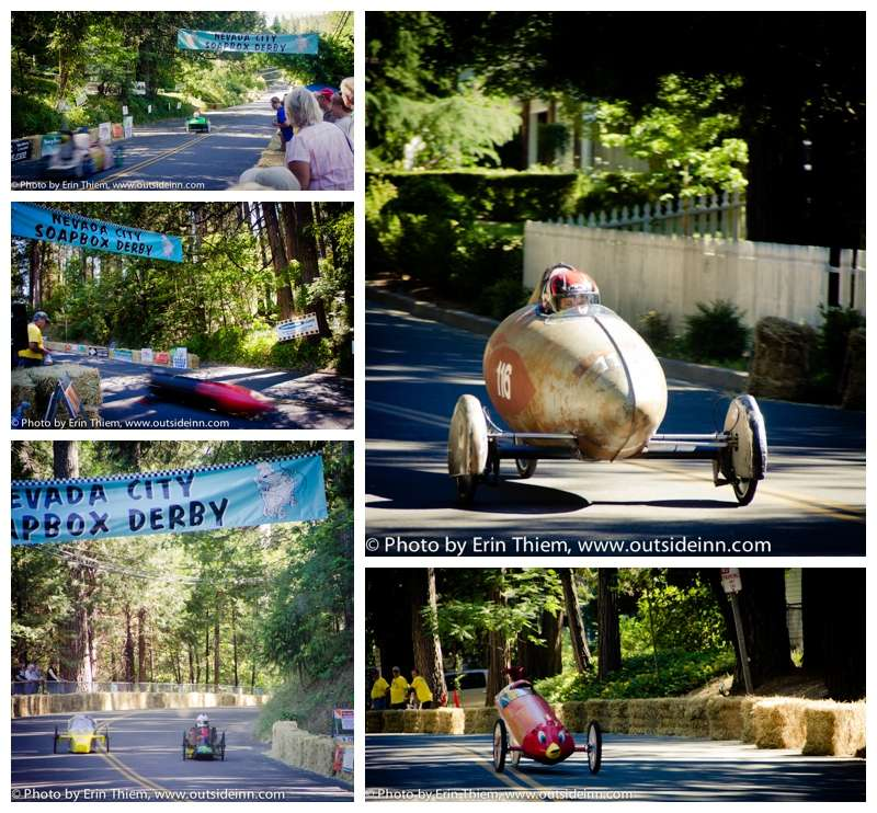 Soapbox Derby, Nevada City, California, photos