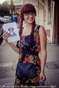 First Art Walk Friday organizer, Cynthia Levesque