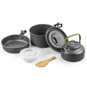 Terra Hiker Camping Cookware 10 PCS Kit