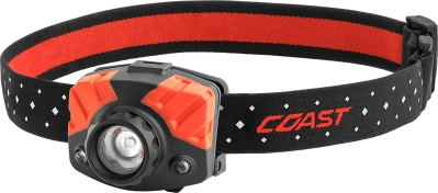 COAST FL75R Rechargeable 530 Lumen Dual Color Focusing LED Headlamp