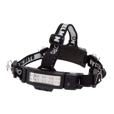 STEELMAN PRO 78834 Slim Profile Rechargeable LED 250-Lumen Motion Activated Headlamp