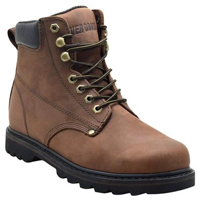 EVER BOOTS Tank Men's Soft Toe Oil Full Grain Leather Insulated Work Boots