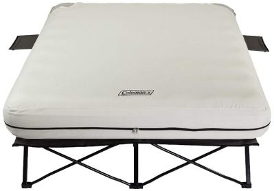 Coleman Camping Cot - Air Mattress - and Pump Combo - Folding Camp Cot and Air Bed