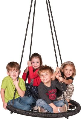 M & M Sales Enterprises Web Riderz Outdoor Swing N Spin