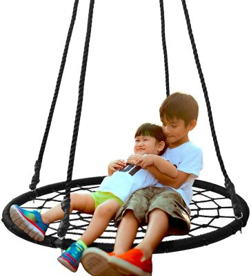 SUPER DEAL 40 Spider Web Tree Swing