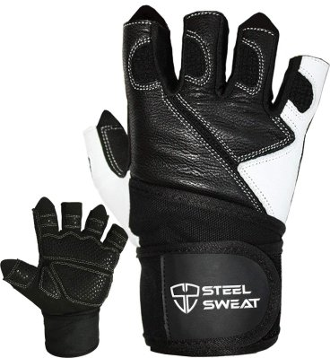 Steel Sweat Weightlifting Gloves