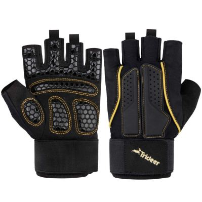 Trideer Padded Weight Lifting Gloves