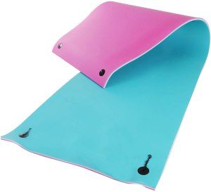 HOMCOM Foam Floating Water Pad Swim Mat