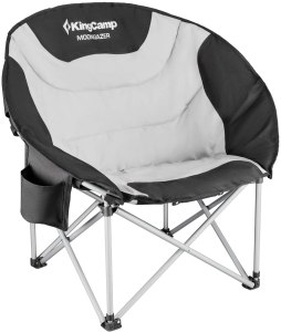 KingCamp Moon Saucer Chair Padded Seat