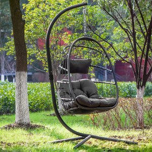 YeSea Aluminum Frame Swing Egg Chair