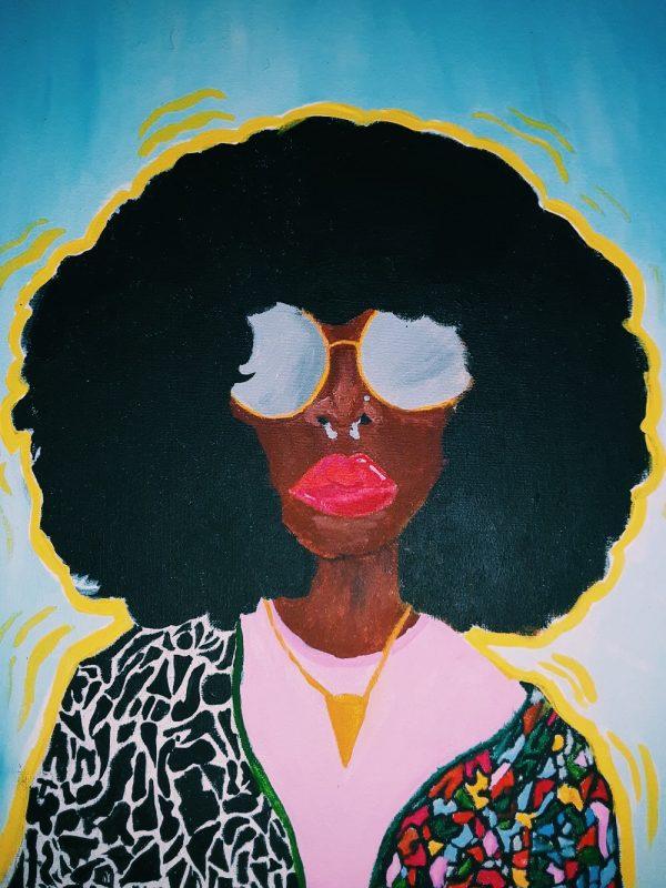 Art by Eriana Freeman, titled,