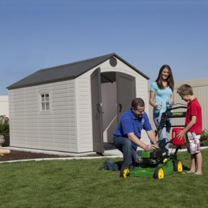 A Resin Plastic Shed by Lifetime