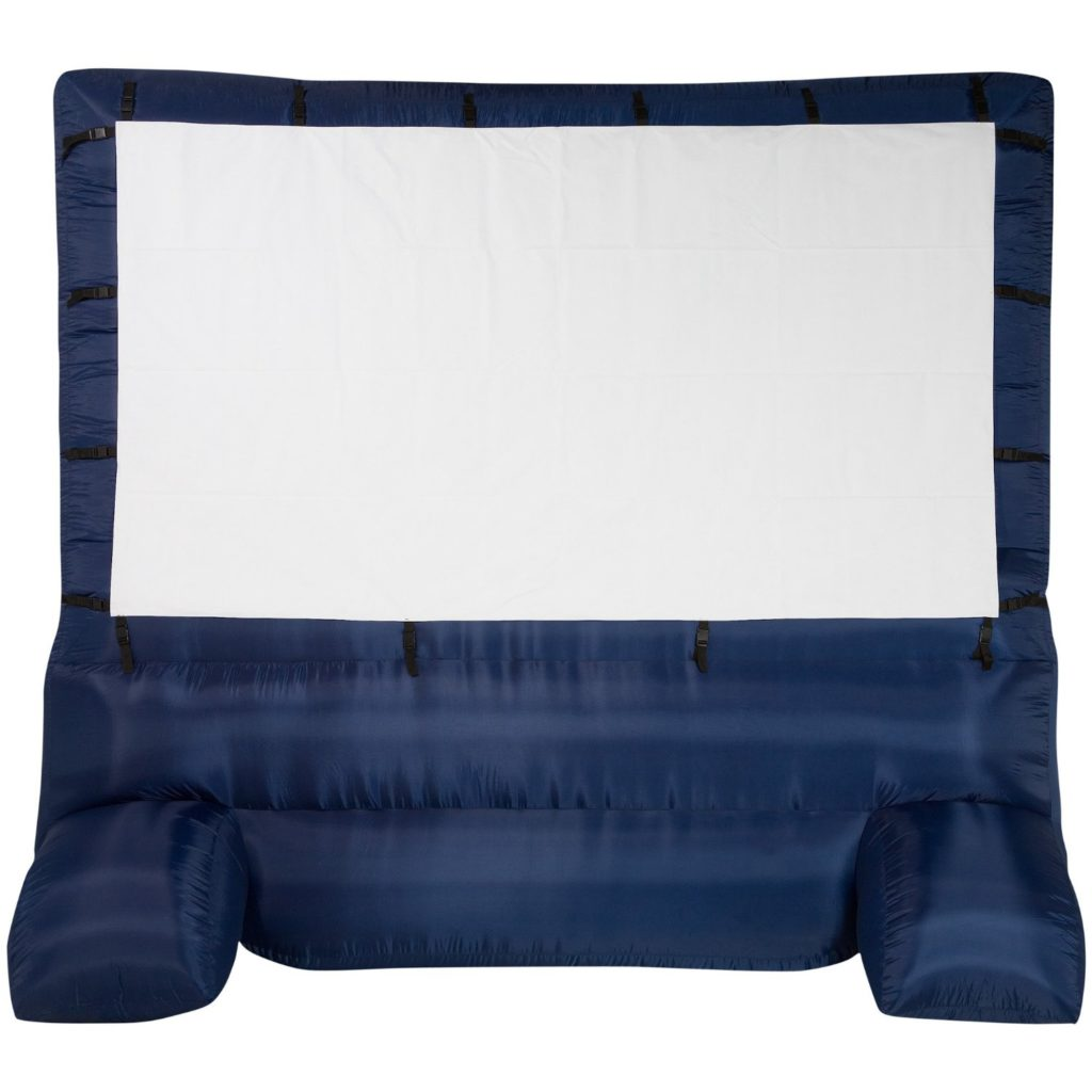 Gemmy 39127-32 Deluxe Blow Up Projector Screen, 12-Ft. Widescreen