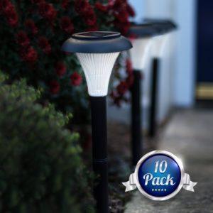 Garden Joy 10 Pack Outdoor Garden Lights