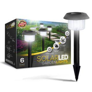 SolarGlow LED Path Lights
