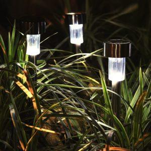OakLeaf Stainless Solar Path Lights