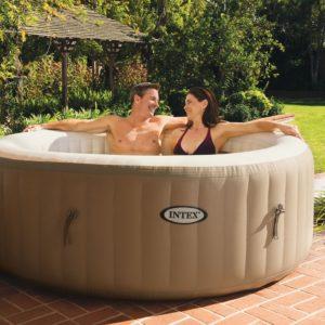 "Intex PureSpa 77"" Circular Portable Hot Tub"