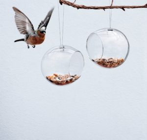 Eva Solo Mini Bird Feeders Two Pieces