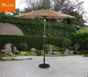 Ulax Furniture 9 Ft Outdoor Umbrella Patio Market Umbrella