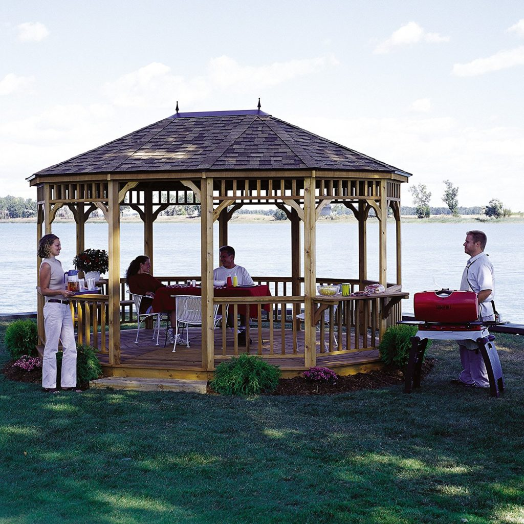 Park Gazebo Terrace by Handy Home Products