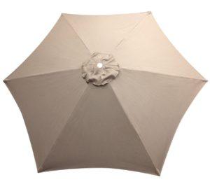 Replacement Top 8' 6 Rib Umbrella Canvas Replacement