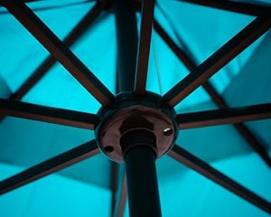 Abba Patio 9' Tilting Umbrella Ribs Detail