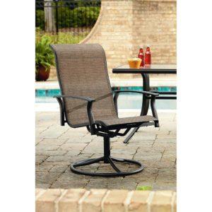 Garden Oasis Swivel Arm Chair Detail