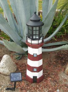 Garden Sunlight Solar Powered Lighthouse Lawn Ornaments