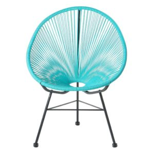 PoliVaz PV-ML-BL Mayan Hammock Acapulco Lounge Chair, Blue