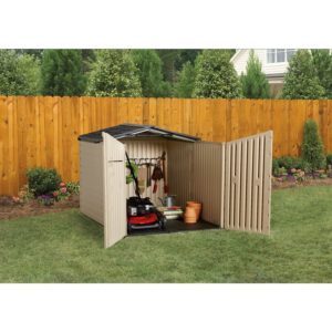 Resin Plastic Shed by Rubbermaid