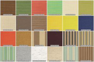 Sunbrella Fabric Options