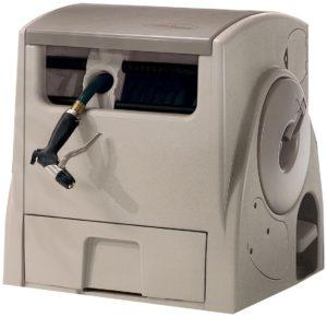 Suncast PW100 Powerwind 100-Foot Capacity Automatic Rewind Garden Hose Reel