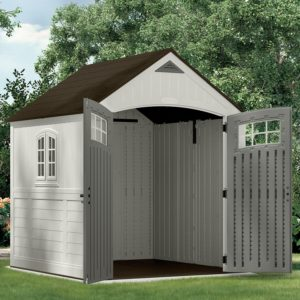 Resin Plastic Garden Shed by Suncast