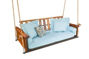 The Porch Company Teak Craftsman Bed Swing